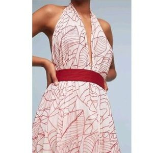 Anthropologie Lilka Samarkand wrap dress
